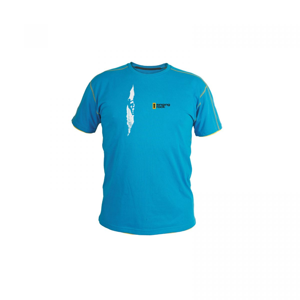 Koszulka męska BLUE CRACK