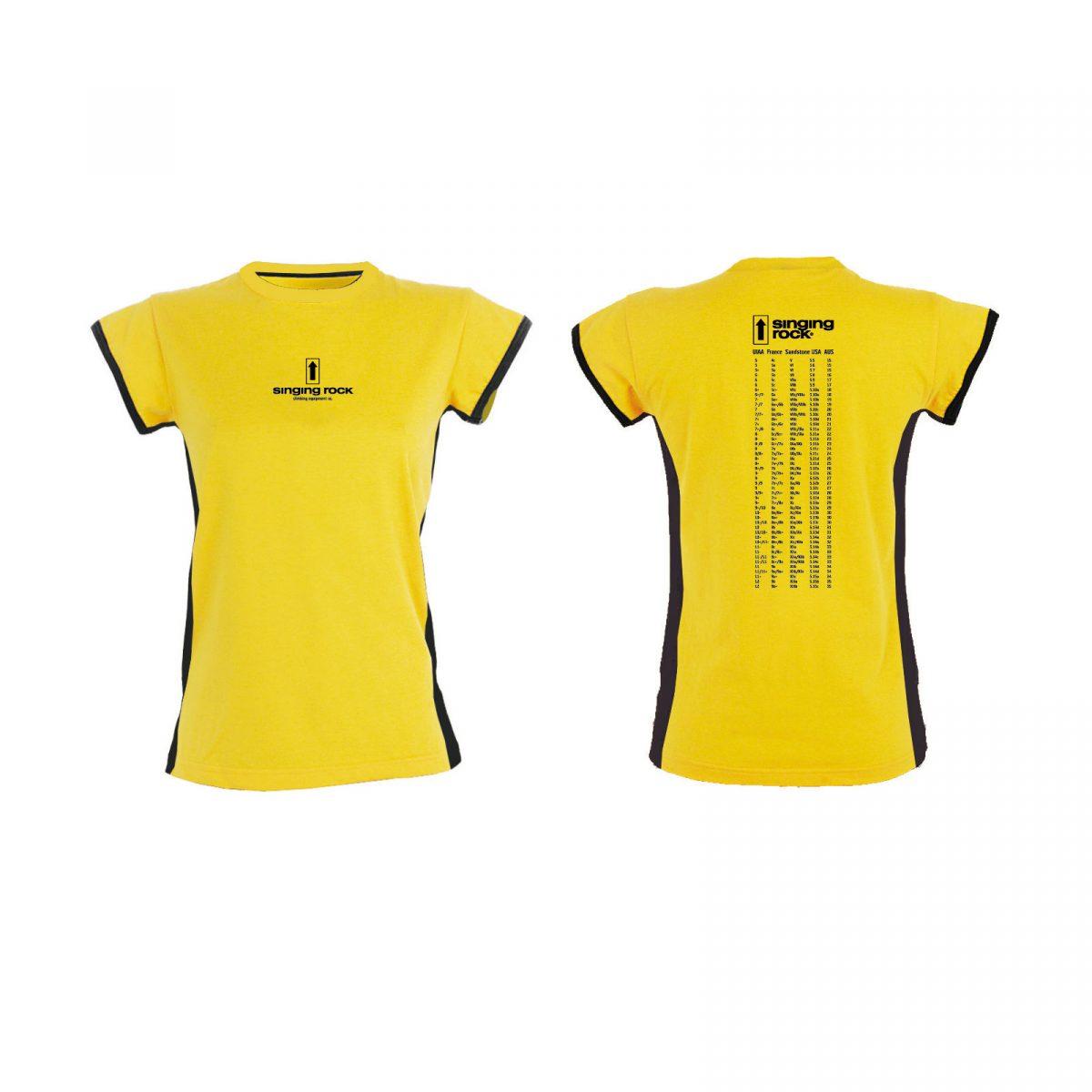 Koszulka damska CLIMBING GRADES